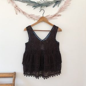 Free People Lacey Blouse